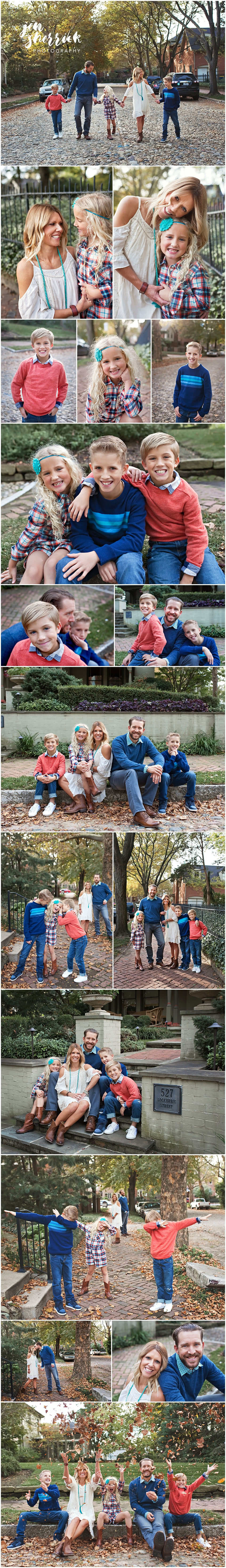 Annual Photo Session with the Sinsabaugh Family